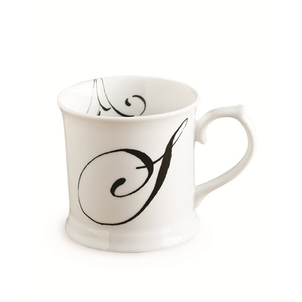 Initially Yours Tankard 12 oz. Mug by Rosanna