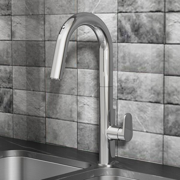 Beale Pull Down Single Handle Kitchen Faucet with Selectronic by American Standard