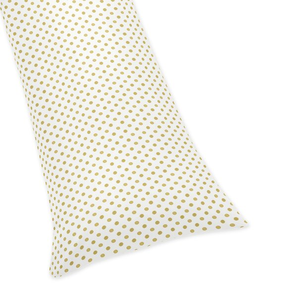 Amelia Polka Dot Body Pillow Case by Sweet Jojo Designs