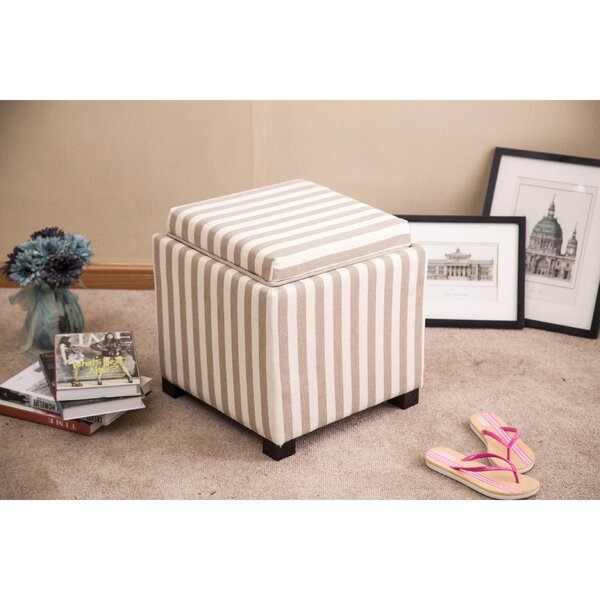 Grace Upholstered Storage Ottoman by Warehouse of Tiffany