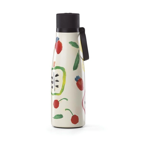 All in Good Taste Pretty Pantry 16 oz. Stainless Steel Water Bottle by kate spade new york