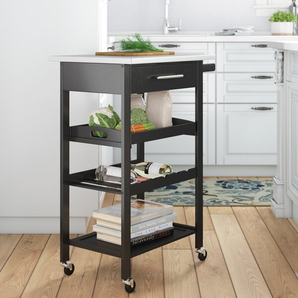 Degraw Bar Cart by Ebern Designs Ebern Designs