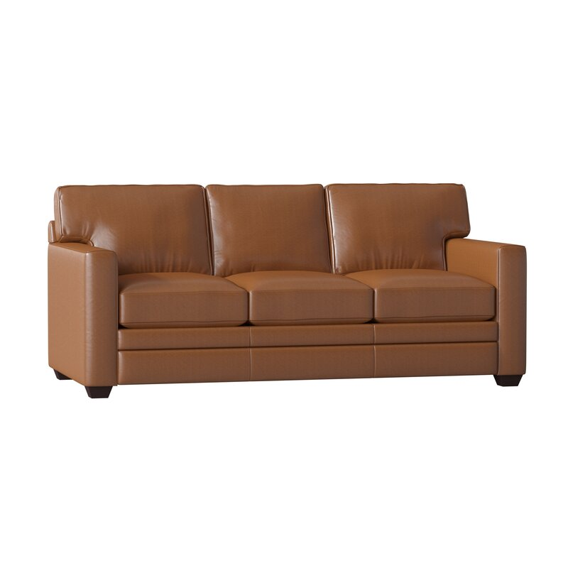 carleton leather sofa bed cstm2407