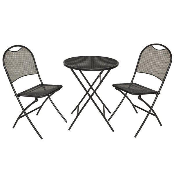 Gyala Cafe Napoli 3 Piece Bistro Set by Ebern Designs