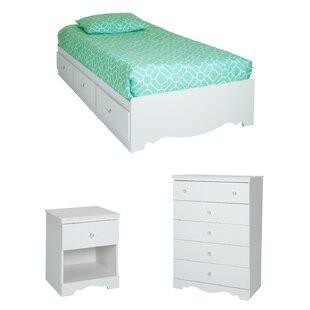 Crystal Platform Configurable Bedroom Set