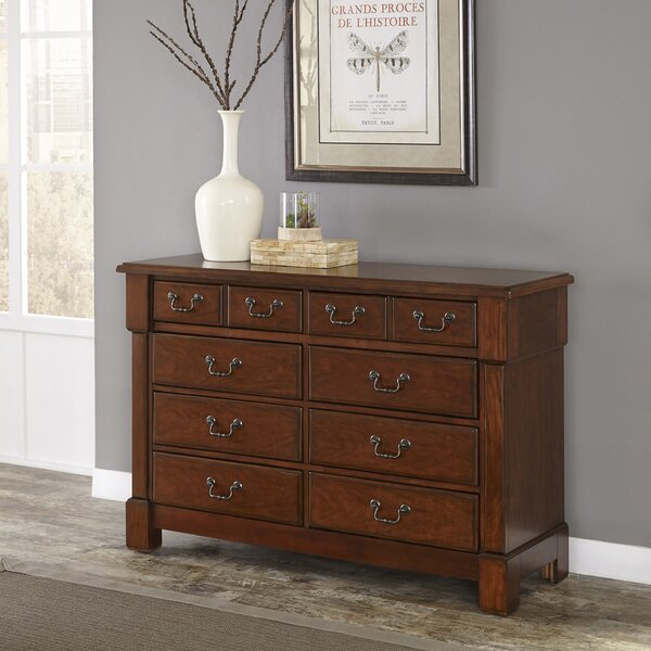 Cargile 8 Drawer Double Dresser by Darby Home Co