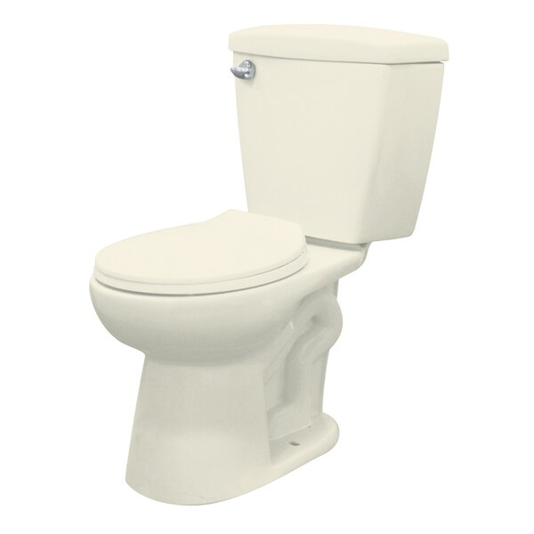 Harrison 1.28 Elongated Two Piece Toilet by Transolid