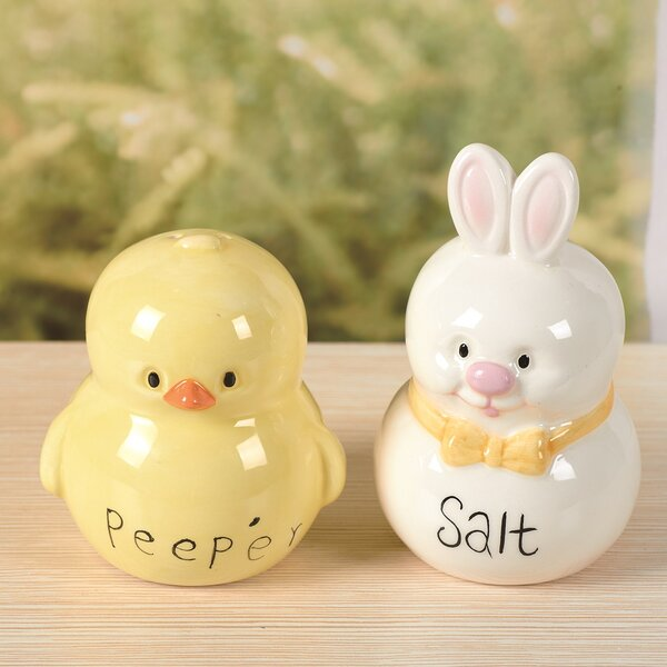 Hip Hop Salt and Pepper Set by Transpac