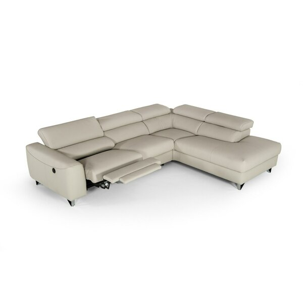 Rondo Modern Reclining Sectional by Orren Ellis