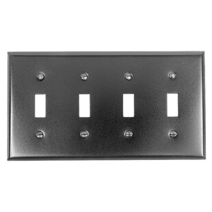 4 switch wall plate cover toggle switch plate covers wayfair