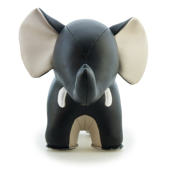 Abby II the Elephant Bookend by Zuny