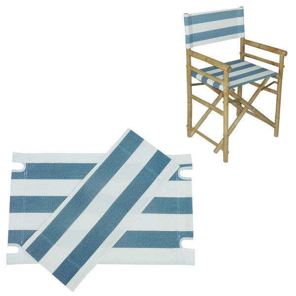 Rizokarpaso Canvas for Bamboo Director Chair by Bay Isle Home