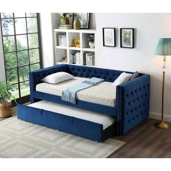 Ceasar Twin Day Bed by House of Hampton House of Hampton