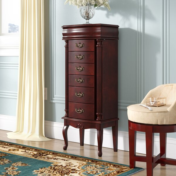 Cottrell Jewelry Armoire with Mirror by Astoria Grand