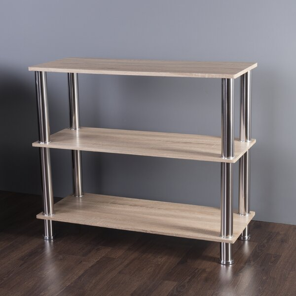 Adelinna 3 Tier Etagere Bookcase by Latitude Run