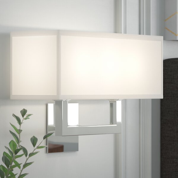 Clareville 2-Light Flush Mount by Wade Logan