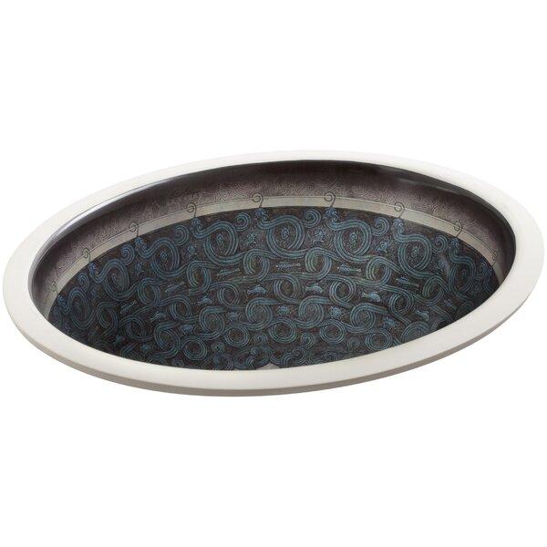 Caxton Ceramic Oval Undermount Bathroom Sink by Kohler
