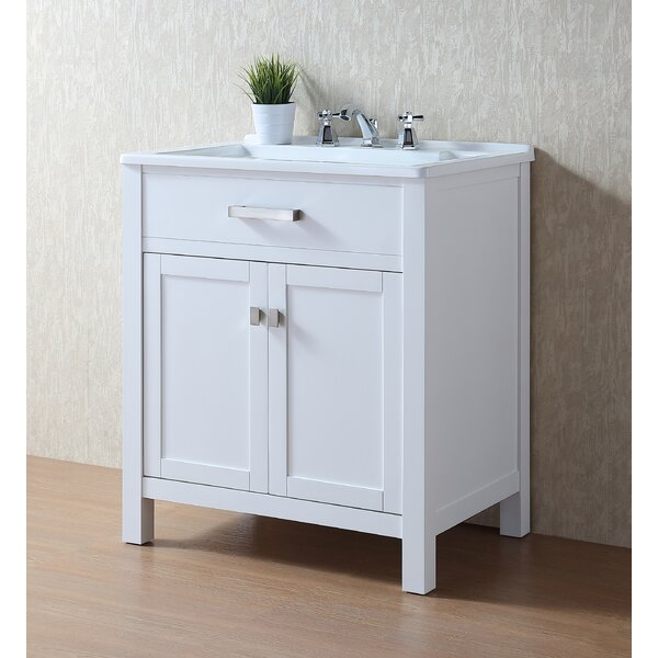Radiant 30 Single Bathroom Vanity by dCOR design