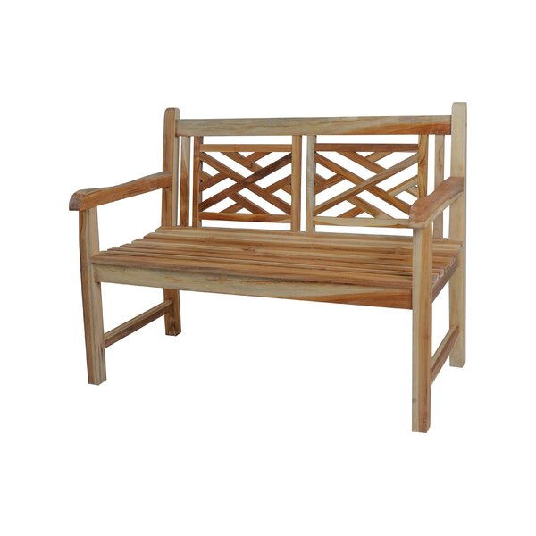 Kings Cross Teak Garden Bench by EcoDecors