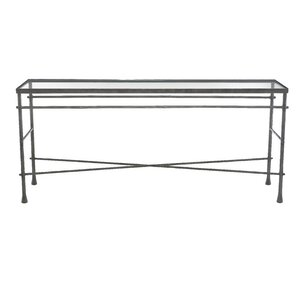 Pollard Glass Console Table by Bernhardt