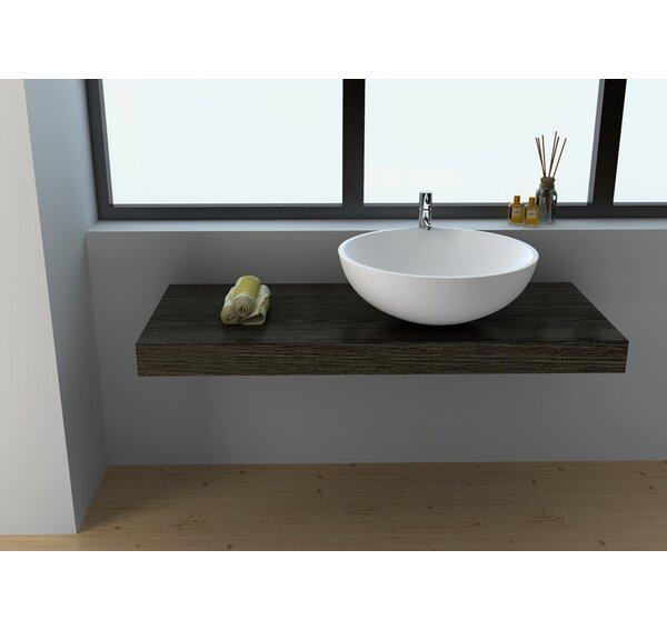 Circular Vessel Bathroom Sink by Legion Furniture