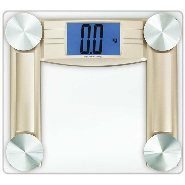 Large Platform Glass Bathroom Scale by Cook N Home