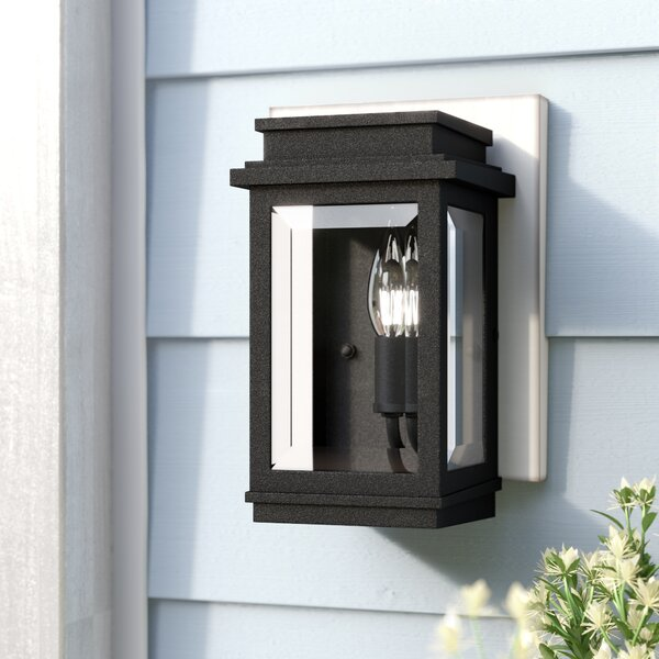 Persil Outdoor Wall Lantern by Laurel Foundry Modern Farmhouse