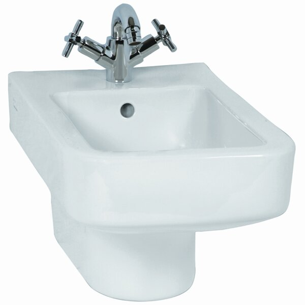 WJ 15.75 Wall Mount Bidet by VitrA by Nameeks