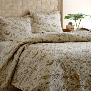 World map bedding wayfair map 3 piece reversible quilt set by tommy bahama bedding gumiabroncs Image collections
