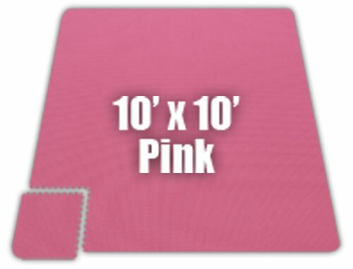Premium SoftFloors Set in Pink by Alessco Inc.
