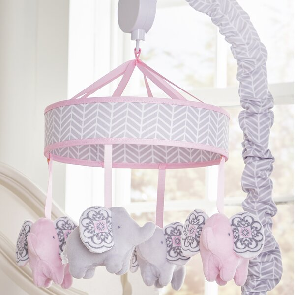 Elodie Motorized Crib Mobile By Wendy Bellissimo.