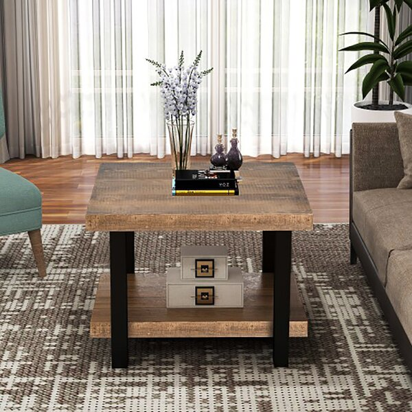 Florentina Coffee Table With Storage By Millwood Pines