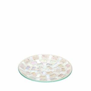 Mosaic Pillar Glass Dish