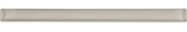 0.75 x 12 Glass Pencil Liner Tile in Sandy by Splashback Tile