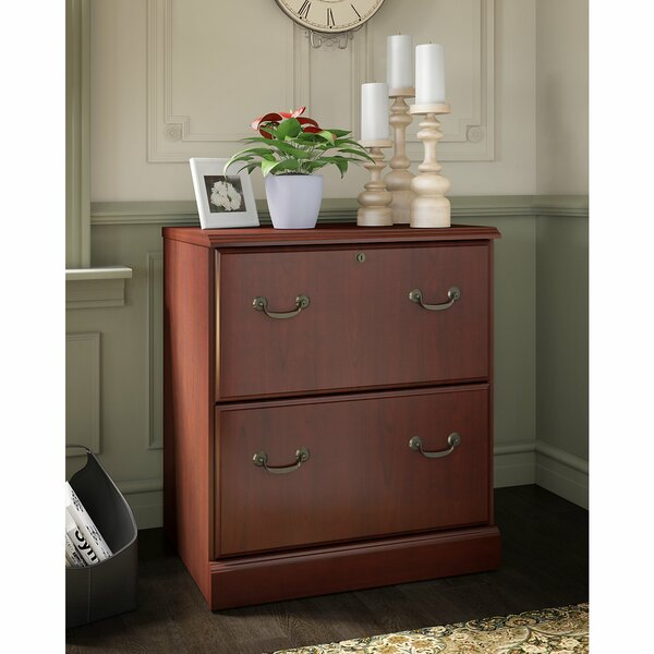Bennington 2-Drawer Lateral Filing Cabinet by Kathy Ireland Office by Bush