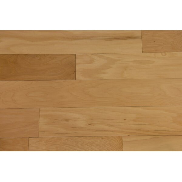 Monaco 5 Engineered Hickory Hardwood Flooring in Natural by Branton Flooring Collection