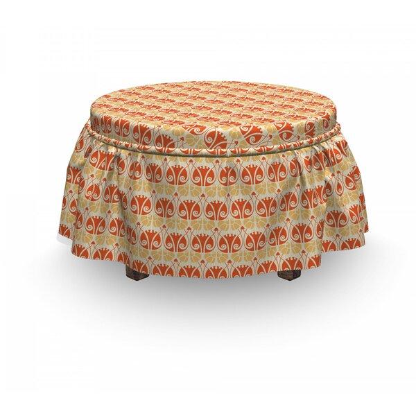 Mushroom Ottoman Slipcover (Set Of 2) By East Urban Home