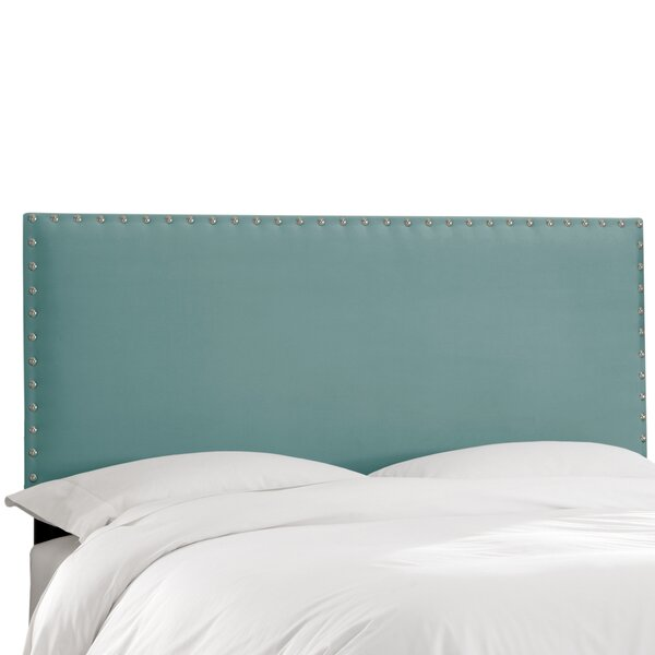 Aldan Upholstered Panel Headboard by Darby Home Co