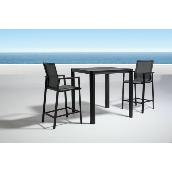 Houston 3 Piece Dining Set by Orren Ellis