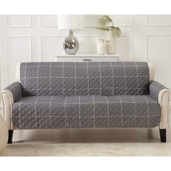 T-cushion Sofa Slipcover by Charlton Home