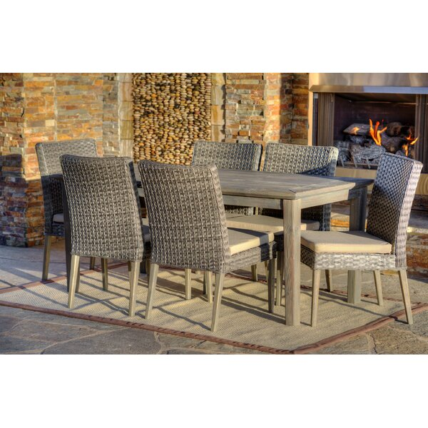 Winchester 7 Piece Dining Set with Cushions by W Unlimited