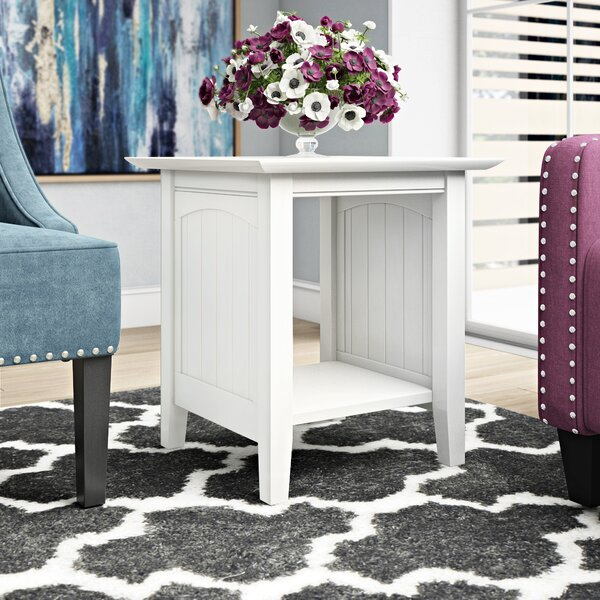 Tolleson End Table by Charlton Home