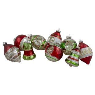 Silver Mercury Glass Ornaments Wayfair