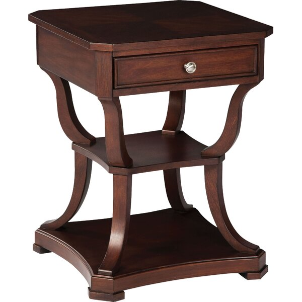 Belmont End Table with Storage by Fairfield Chair