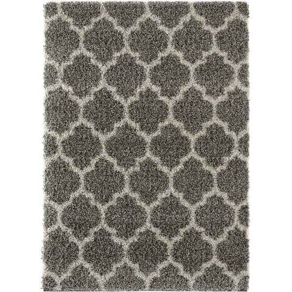 Langner Gray Area Rug by Wrought Studio