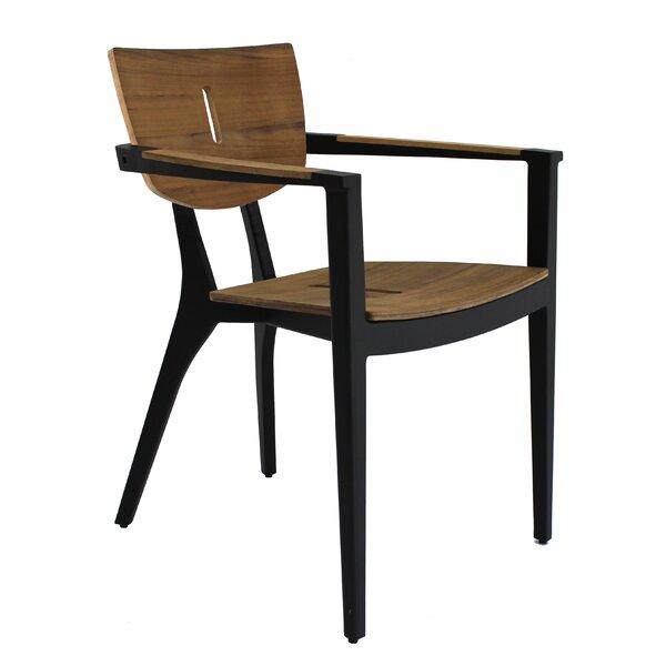 Diuna Stacking Teak Patio Dining Chair by OASIQ OASIQ