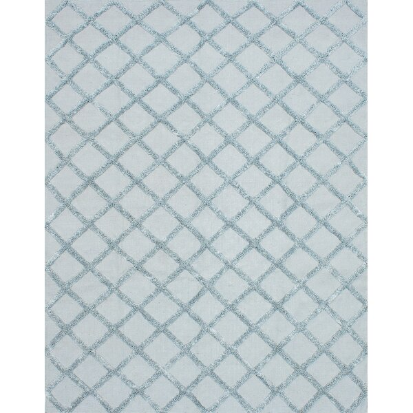 Bonefield Wool Light Blue Area Rug by Rosdorf Park