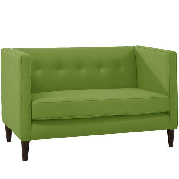Crosby Chesterfield Settee By Wayfair Custom Upholstery™