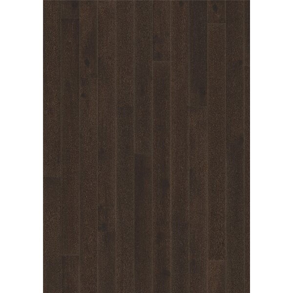 Classic Nouveau 7-3/8 Engineered Oak Hardwood Flooring in Black by Kahrs