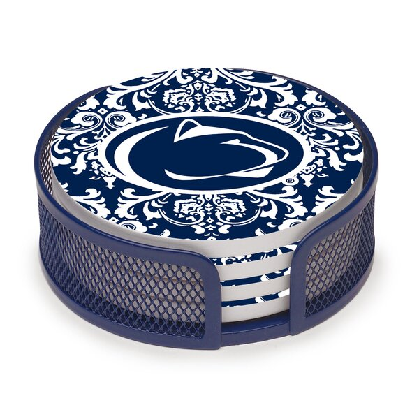 5 Piece Penn State University Collegiate Coaster Gift Set by Thirstystone